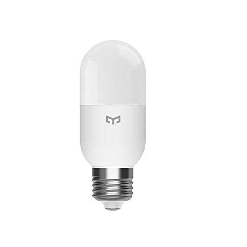 La bombilla Edison de temperatura de color regulable cambia, E27 4W 450lm Wifi Mesh White Bulb funciona con Mihome Homekit Smart Control(Bombilla Yeelight M2)