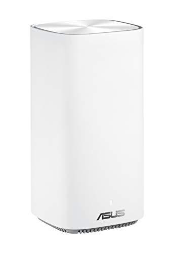 Asus Zen WiFi CD6, Confezione da 2 Pezzi, Sistema Wi-Fi Mesh AC1500 Dual-band Copertura Fino a 240 m², Internet Security e Parental Control Inclusi a Vita, 4 x porte gigabit, 3 SSIDs
