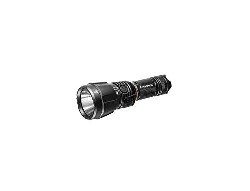 Mactronic Blitz K3 - Faro de búsqueda LED (3000 lm, alcance de 375 m, linterna táctica, batería y 1 cargador de 230 V, peso con batería de 440 g, dimensiones 62 x 172 mm, grado de protección IP67)