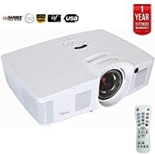 Optoma Enhanced Short Throw Gaming Projector GT1080Darbee - + 1 Year Extended Warranty(Renewed)