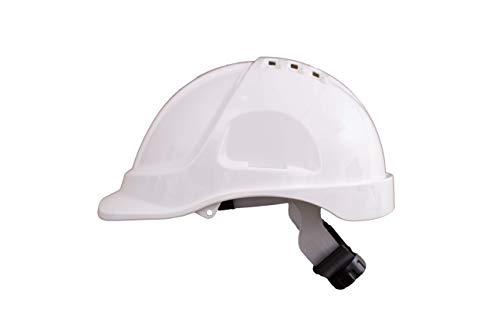 Irudek Protection 302601300013 Casco para industria y construcción STILO 600V | Certificado Europeo EN 397, EN 50365, 30º, Blanco 🔥