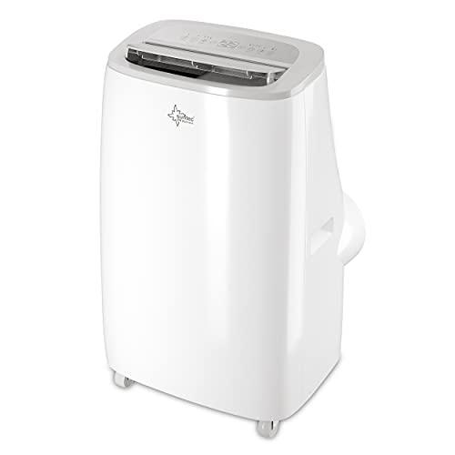 SUNTEC Climatiseur Mobile CoolFixx 3.5 Eco R290 | 4-en-1 : Refroidisseur -3.5 KW , Chauffage - 2.8 KW, Déshumidificateur et Ventilateur| Minuterie programmable | Réfrigérant écologique| 12000 BTU/h