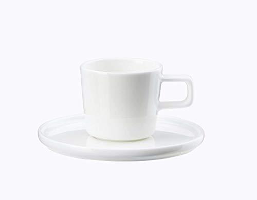 ASA - OCO - Kaffeetasse mit Untertasse - Porzellan - 0,2 l