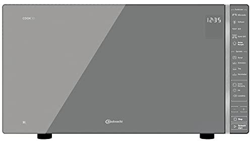 Bauknecht MW 304 M / Kombination Grill und Mikrowelle / 900 W / 30 L Garraum / Quartz Grill 1050 W / Dampfgarfunktion / AutoClean / Joghurt-Funktion / Schmelzfunktion / Warmhalte-Funktion