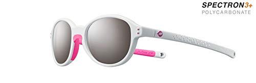 Julbo Frisbee Sonnenbrille für Mädchen XX-Small Hellgrau/Neonrosa.