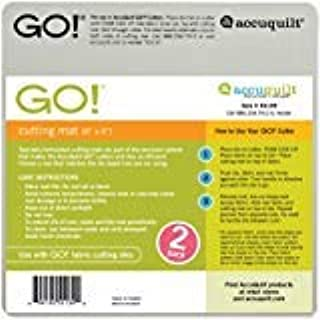 AccuQuilt GO! Cutting Mat-6 x 6 2-Pack
