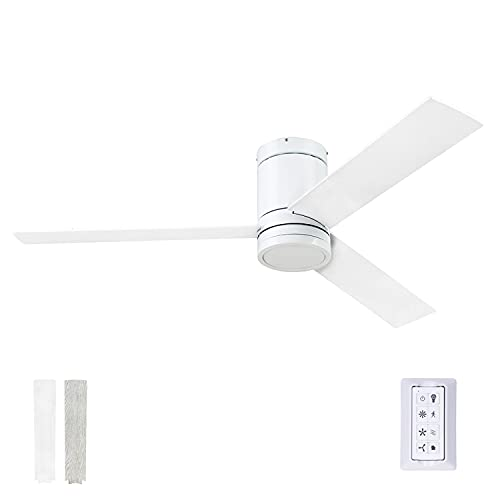 Prominence Home 51463-01 Espy Ceiling Fan, 52, Bright White