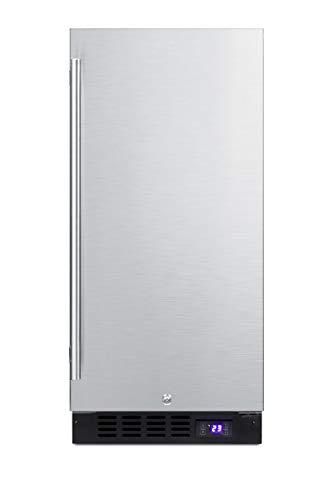 Summit SCFF1533BSS Frost-Free Freezer - 15' Wide