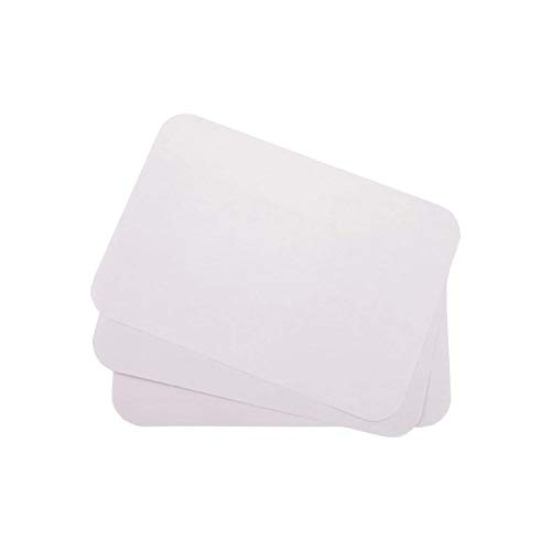 Dental Tray Covers Paper - Size B Tray 8.5'x12.25' Premium Tray Paper Also Great for Beauty Tray, Pack of 1000, by Vivid (White)