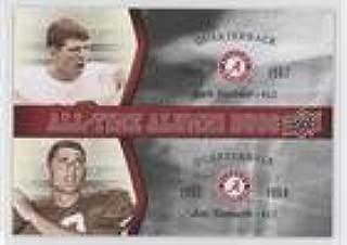Ken Stabler; Joe Namath (Football Card) 2012 Upper Deck University of Alabama - All-Time Alumni Duos #ATAD-SN