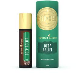 Young Living Deep Relief Aceite esencial de rolón, 10 ml