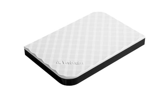 Verbatim 947968 Hard-Disk Esterno USB 3.0 da 1 TB, Bianco
