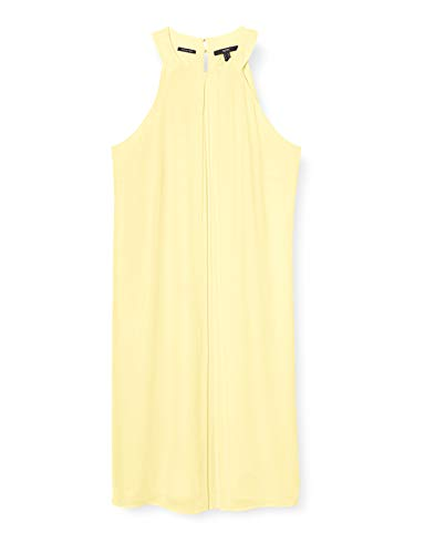 ESPRIT Collection Damen 040EO1E341 Kleid, 760/LIME Yellow, 36