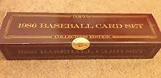 1986 Topps Tiffany Baseball Factory Sealed Set Very Limited