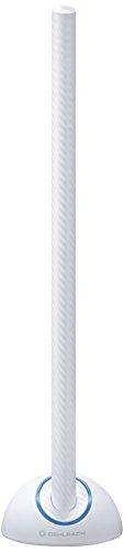 Oehlbach Scope Max - Aktive DVB-T2 HD Stabantenne mit LTE-Filter- Digitale Zimmerantenne - regelbarer Verstärker - Innenantenne - Schwarz