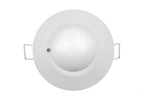 HUBER MOTION 65HF Bewegungsmelder 360° für Innen I Unterputz Bewegungsmelder, Deckenbewegungsmelder für LED geeignet, Motion Sensor, 3-Draht-Technik