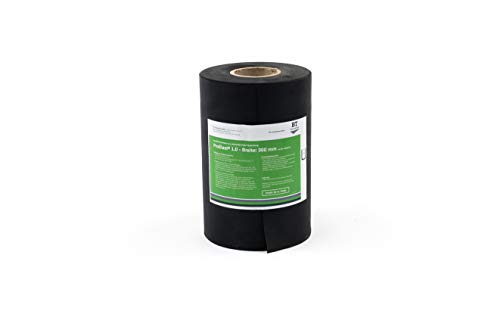Folienabdichtung für Außen – ProElast® | EPDM-Folie 1 mm dick, 300 mm breit, Individueller Zuschnitt nach Bedarf – Preis pro Meter, druckwasserdicht