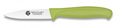 Cuchillo pelador Top Cutlery Verde 8,3 cm Cocina profesional chef profesional acero al carbono inoxidable 17312-VE