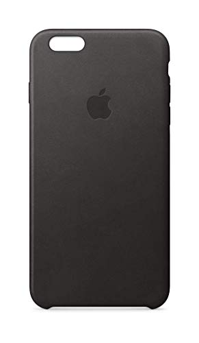 Apple Leather Case (for iPhone 6s Plus) - Black