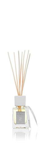 Millefiori 41MDLS Legni und Spezie Raumduft Diffuser 100 ml Zona inklusive Stäbchen, Glas, Gelb, 9.5 x 7.8 x 26.4 cm