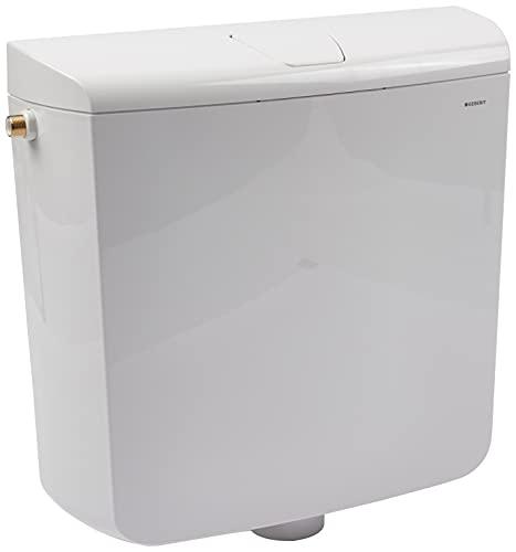 Geberit SCACAS0010CA AP110 Spülkasten, mit Stopptaste, 9 Liter, Weiß