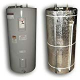 Reflective Water Heater Jacket Insulation Fits 40 Gallon Tank R Value 6 (Tape)