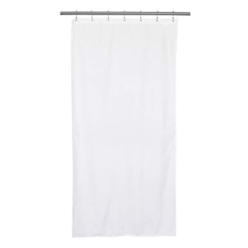 Waterproof Fabric Stall Shower Curtain or Liner 36 inch...