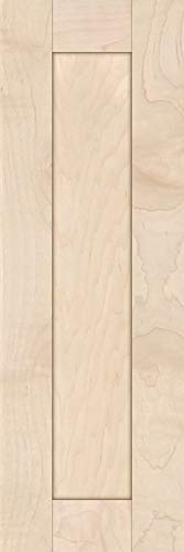 Unfinished Maple Shaker Cabinet Door by Kendor, 24H x 8W