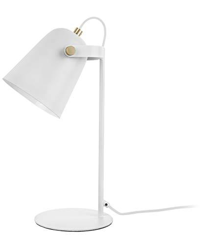 Present time - Lampe à poser fer blanc mat STEADY