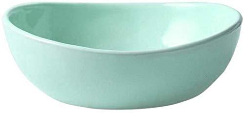 hsj Macarons creativo cerámica cubertería plato hogar plato de carne occidental plato plato de comida tazón taza durable