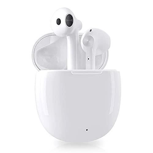Cuffie Bluetooth Auricolari Bluetooth 5.1 Cuffie Senza Fili Cuffiette Sport IPX5 Impermeabili con Cuffie In-Ear da 25 ore, Cancellazione del Rumore ENC con Chiamate Stereo HD, per Casa Ufficio Esterno