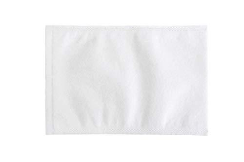 ECO Waschhandschuhe Molton, Einweg-Waschlappen, Einmal-Waschhandschuhe, weiß, Pflegewaschlappen, Reinigungswaschlappen, Ultraschall verschweißt, 1.000 Stück