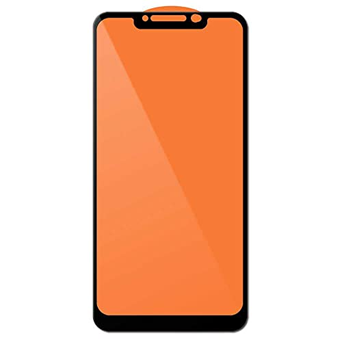 OcioDual Protector de Pantalla para Xiaomi Pocophone F1 Cristal Templado 0,3mm 11H 21D Vidrio Anti Golpes Arañazos Borde Negro