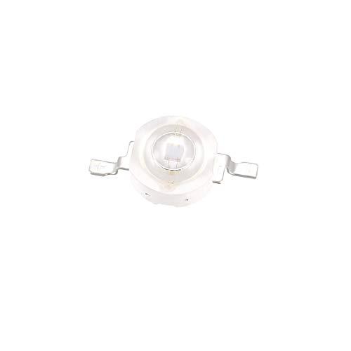 sourcing map UV LED Chip ultraviolettes Licht emittierende Diode SMD COB Licht Lampe Birne lila 1pcs 365-370nm 1W