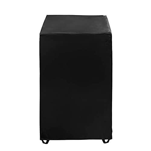 Gidenfly - Funda para silla de interior y exterior, impermeable, funda de silla apilable 210D, funda de asiento profunda, 34 x 26,4 x 46,8 pulgadas