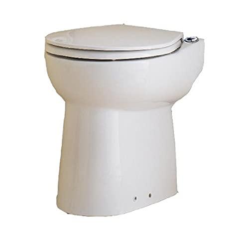 Sparsames SFA Sanibroy Sanicompact Stand-WC mit integrierter Hebeanlage