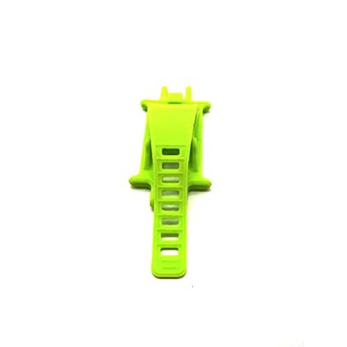 iuNWjvDU De Silicona de Bicicletas de montaña sostenedor del teléfono Soporte Soporte Ajustable de Silicona Bastidor del Manillar para el teléfono (Verde), Herramientas y Accesorios