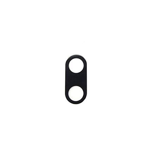 N.1 Ricambio spare part LEN vetro per cover posteriore vetrino di ricambio lente obbiettivo rear fotocamera BACK camera + BIADESIVO ADESIVO per XIAOMI MI A1 5X