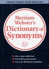 Webster's New Dictionary of Synonyms: A Dictionary of Discriminated Synonyms with Antonyms and Analogous and Contrasted Words