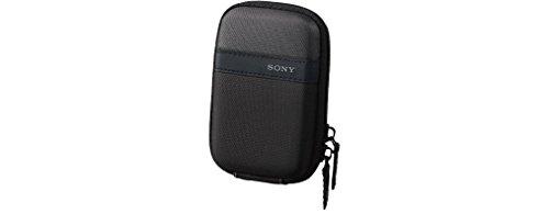 Sony DSC-WX350 Digitalkamera (18 Megapixel, 20-Fach Opt. Zoom, 7,5 cm (3 Zoll) LCD-Display, NFC, WiFi) pink & LCS-TWP/B Kameratasche für DSC W/T-Serien schwarz