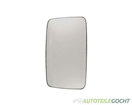 View Max Spiegel Ersatzspiegel Spiegelglas Verchromt Konvex Links Oder Rechts für 7750625, 8151H4, 93160520 von Autoteile Gocht