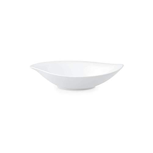 Villeroy & Boch New Cottage Special Serve & Salad Plat creux, 21x18 cm, Porcelaine Premium, Blanc