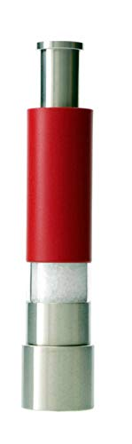 Salt And Pepper Grinder Set or Singles, Grind Gourmet Original Pump & Grind Cooking Gadgets, Spice Grinder, Pepper Mill, Modern Push Button Salt N Pepper Grinders, Buy 1, 2 ..