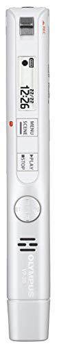 Olympus VP-20 hochwertiges Stereo Diktiergerät mit omnidirektionalem Mikrofon, Anti-Raschel-Filter, Ein-Klick-Aufnahme, Mikrofon-/Kopfhöreranschluss, direkt USB, Selbstauslösende Aufzeichnung und 8GB