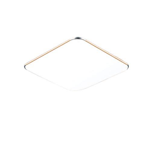 LeMeiZhiJia - Lámpara de techo, color dorado