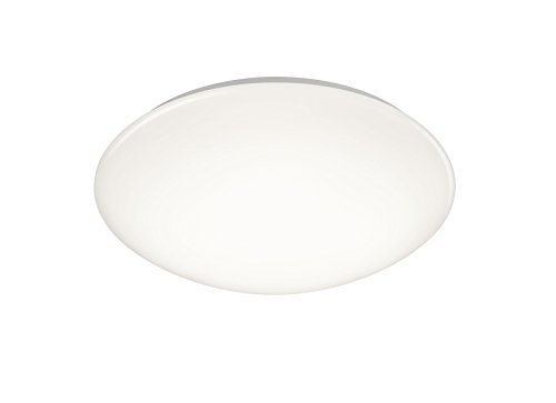 Reality Leuchten R62601301 Putz A+, LED Deckenleuchte, Plastik, 15 Watt, Integriert, weiß, 37 x 37 x 12 cm