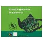 Sainsburys (セインズベリー) フェア トレード グリーンティーバッグ x 80