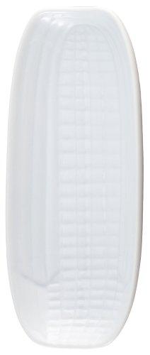 HIC Harold Import Co. HIC Maisform, 24 x 10 cm, feines weißes Porzellan