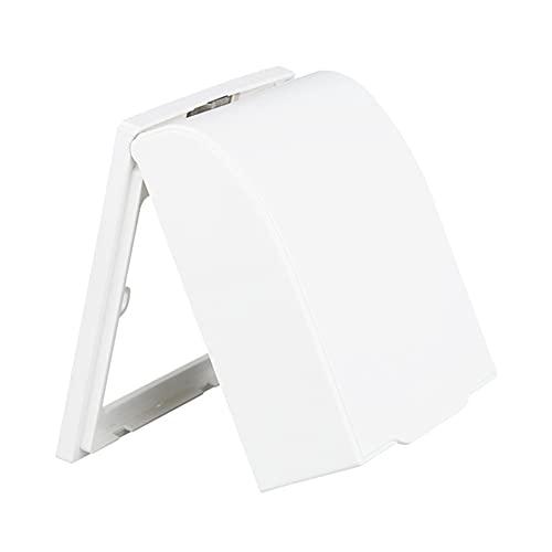 Xiaorong Cubierta impermeable del casquillo del tirón del timbre de la puerta de la luz de la pared del interruptor plástico de la cubierta