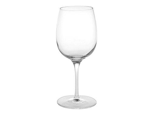 Luigi Bormioli Weingläser 365 ml Palace, hochwertiges Stielglas für Rotwein, bleifreies Kristallglas aus Italien (Farbe: Transparent), Menge: 1 x 6 Stück